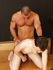 Mature bareback anal at Teach Twinks