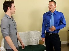 Jesse Jordan and Alex Andrews come to an agreement over renting office space, but it isn't until they both cum that the deal is done free twinks