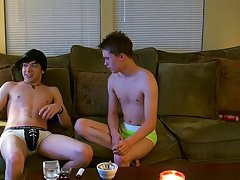 Huge group male masturbation and sex gay boy emo hot - at Boy Feast!