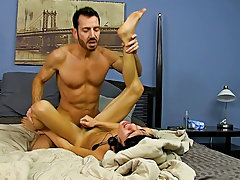 When Bryan Slater has a stressful day at work, he comes home and takes it out on his little slave boy, Kyler Moss