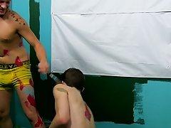 Hung gay black teen meets white boy and black gay men grinding dicks at Boy Crush!