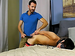 Once he's hard as a rock, Bryan lays into Kyler's ass, slamming his aperture until the guy is wailing for more hardcore gay anal galleries a
