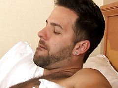 He finds himself bent over the bed and then flat on his back as Tyler pounds his needy ass gay hardcore fuck at My Husband Is Gay