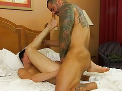 Alexsander hard ramrod nearly hammers Kyler throughout the ottoman and the boy is screaming and begging for more gay anal sex free viedos at I'm