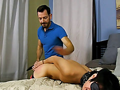 When Bryan Slater has a stressful day at work, this chab comes home and takes it out on his little slave boy, Kyler Moss free gay hardcore bear at Ban