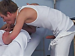 As a gay doctor, it's hard to resist a handsome chap  Julian male medical fetish porn