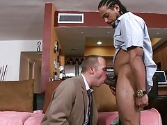 His name is Dareian and his all time fantasy is to get a dark rod shoved up his asshole.