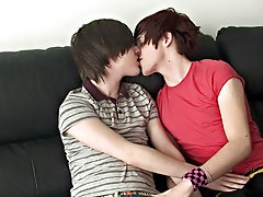 I have to say, this is one of the most vocal sets we have, Deano's moaning is so hot feminine gay boys sucking cock at Homo EMO!