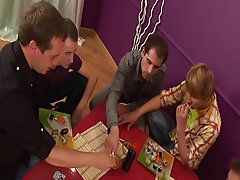 Male breasts groups and bicurios male masturbation groups at Crazy Party Boys