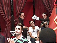 Twinks first gay sex stories and sexy straight boys playing strip poker video at Sausage Party