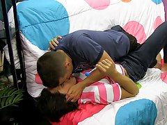 Gay twink climax pics and clips and twinks in the missionary position