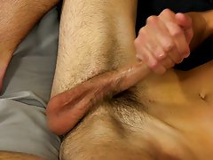 We love twinks who come to work with us cuz they've enjoyed jerking off to our videos, and Alex Wilde is one such twink male first time orgasm at