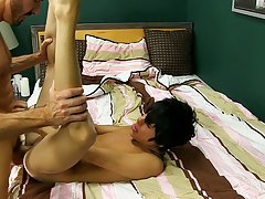 Cute boys fuck and suck dick and gay uncut cock shooting cum at Bang Me Sugar Daddy