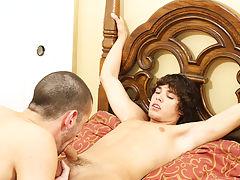 Multiple anal gay and gay twin men having sex at Bang Me Sugar Daddy