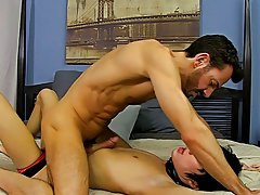 When Bryan Slater has a stressful day at work, this chab comes home and takes it out on his little villein boy, Kyler Moss hardcore gay stories at Ban