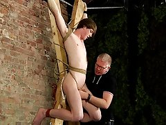 Vintage uncut male and art nude male bondage - Boy Napped!
