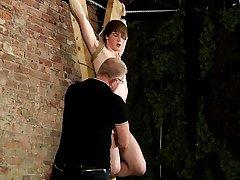 Vintage uncut male and art nude male bondage - Boy Napped!