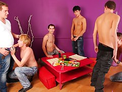 Male group free gay tgp and male masturbation jo self pleasure groups at Crazy Party Boys