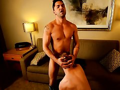 Friends jacking off together and men gay pissing free at Bang Me Sugar Daddy