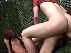 Dreams come true in this stunning clip where he receives drilled from one as well as the other ends and takes consecutive mouth and arse DPs from a co
