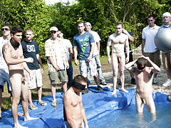 The winners certainly were excempt from hell week but the losers had to pay the ultimate price gay nude wrestling groups