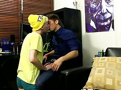 Hardcore close up anal gay and young twinkies cum