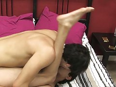 Twink panties masturbation tube and screaming twink from behind at Boy Crush!