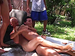 he had all his pledges laying down and they each took turns sliding on top of each other male seeking masturbatio