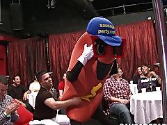 Classic gay blowjob cumshots and group boners pics at Sausage Party