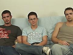 Gay group sex videos and gay group handjobs