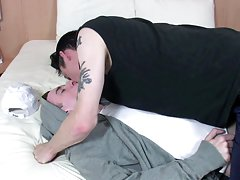 Cumshot on the male ass pics and young big dick twink sex pics at Staxus