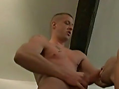 Beau is eager to take Mike's big cock up his itchy gay asshole fat gay bear sex