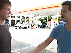 In this weeks out in public update...were off doing our thing me and the homie from california...so were hanging by the gas station and stud that guy