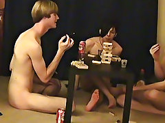 """"""" This is a lengthy video for you voyeur types who like the idea of watching those chaps get naked, drink, talk and play filthy games"""