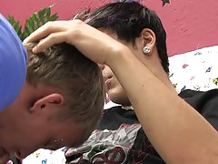 Hot handsome teen boys fucking and ebony twinks first time