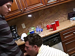 this party was that eager his last challenge was to engulf some penis and acquire screwed and if he was serious about joining they prestigious frat th