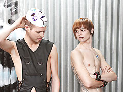 Chase Harding gets hot and kinky with Kyler Moss, Miles Pride and Roxy Red black twink gay