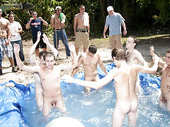 as punishment for losing these unfortunate pledges had to suck each their off in front of their brothers and fellow pledges free group sex gallery men