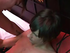 Twink emo boy video and gay anal sex anal orgasm at EuroCreme