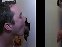He was a bit nervous but he's young, and he just wanted to enjoy a blowjob from a hot chick... LOL gay blowjob gloryhole pic