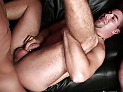 Gay group orgy and gays having group sex