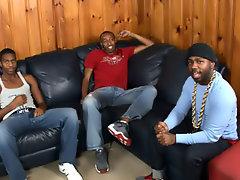 Ebony gay black studs and black men with man boobs