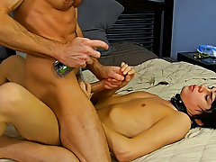 When Bryan Slater has a stressful day at work, that guy comes home and takes it out on his little villein boy, Kyler Moss hardcore asian gay sex at Ba