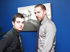 Preston Steel and Trevor Bridge are the merely 2 gay boyz at their office, which is the ideal excuse for an office hookup free xxx hardcore gay pics a