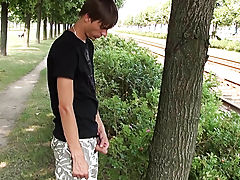 Outdor Peeing outdoors pissing men