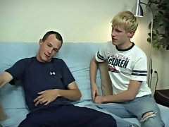 A few minutes later Steve was able to cum as well, and his was more under curb landing right in the middle of Aiden's face free gay anal sex porn