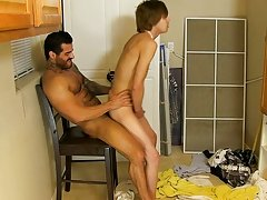 The guy ends up on his knees getting face screwed previous to Alexsander returns the favor, engulfing down the uncut boy-cock hardcore gay cartoon sex