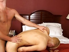 He knows what he wants and impales himself on Alex's unyielding cock