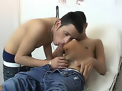 Teen boy young twink fuck blow job