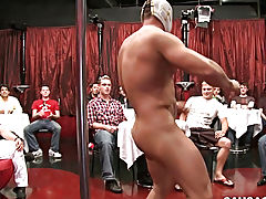 Twink polish boys rimming and twink head shave at Sausage Party